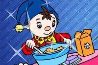 Новогодние Украшения - Noddy Online Coloring