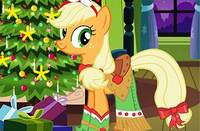 Новогодний Наряд Пони - Applejack Xmas Outfit