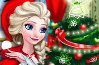 Новогодняя Комната Эльзы - Elsa Christmas Home