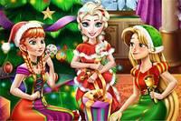 Новый Год Принцесс - Disney Christmas Party