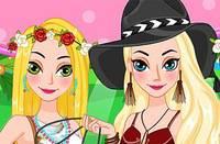 Образы Принцесс - Coachella Princesses