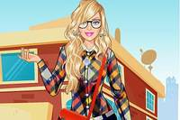 Одень Барби - Geek Barbie Dress Up