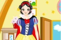 Одень Белоснежку - Snow White Dressup
