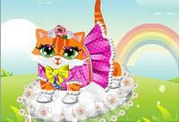 Одень Милого Котенка - Cute Kitty Dress Up