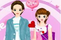 Одень Парочку на День Влюбленных - Couple Love