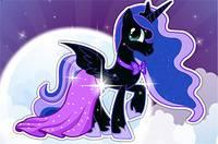 Дружба это Чудо: Одень Принцессу Луну - Princess Luna