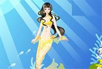 Одень Русалочку - Little Mermaid Dress Up