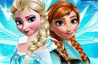 Одень Сестричек - Frozen Sisters Dress-Up