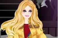 Одеваем Зимнюю Барби - Winter Barbie Girl