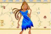 Одевалка Винкс Флора - Winx Flora 3