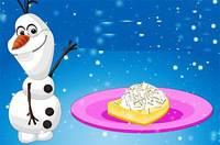 Олаф Готовит Пирог - Frozen Olaf Coconut Cream Pie