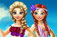 Отпуск Сестер - Elsa and Anna Summer Break