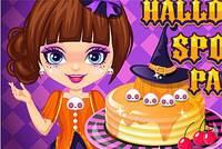 Панкейки на Хэллоуин - Halloween Spooky Pancakes