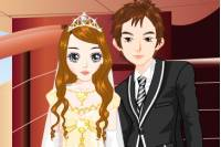 Пара Молодоженов - Wedding Couple Dressup
