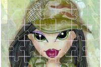 Пазл Братц 8 - Bratz Puzzle 8
