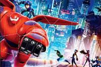 Пазл Город Героев - Big Hero 6 Puzzle Mania