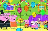 Пазлы со Свинкой - Peppa Pig 10 Puzzles