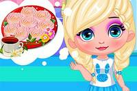 Печенье от Эльзы - Baby Elsa Rose Cookies for Mom