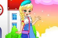 Полли Идет в Школу - Polly Goes to School
