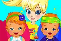 Полли Няньчит Близняшек - Polly Twins Babysiitter