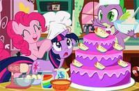 Пони Готовят Торт - My Little Poni Cooking Cake