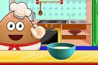 Поу Готовит Рафаэлло - Pou Cooking Raffaello