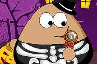 Поу в Хэллоуин - Pou Halloween Slacking