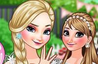 Праздник Анны и Эльзы - Frozen Sisters Birthday Party