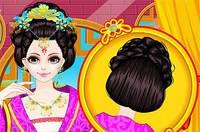 Прическа Китаянки - Chinese Princess Hair Design