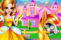 Принцесса и Пони - Princess Zaira аnd Pony