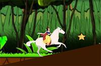 Принцесса на Лошади - Princess Snow White Horse Riding