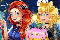 Принцессы и Хэллоуин 2 - Princesses Halloween Challenge