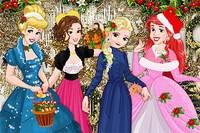 Принцессы Дисней: Рождественский Вечер