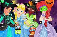 Принцессы и Хэллоуин - Disney Princess Halloween