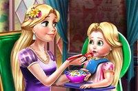 Рапунцель и Дочь - Rapunzel Mommy Toddler Feed
