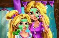 Рапунцель и Ее Дочь - Rapunzel Mommy Real Makeover
