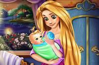 Рапунцель Кормит Малыша - Rapunzel Baby Feeding