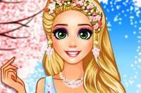Рапунцель в Цветах - Rapunzels Cherry Blossom Outfits