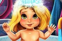 Рапунцель в Ванной - Rapunzel Baby Bath