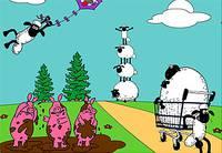 Раскрась Барашек - Wild Sheep Coloring