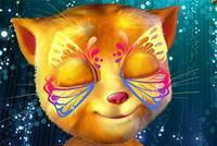 Раскрась Лицо Рыжика - Talking Ginger Face Paint