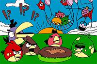 Раскрась Птичек - Angry Birds Coloring Game