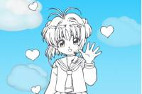 Раскраска Аниме - Coloring Anime