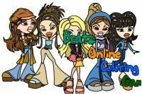 Раскраска Кукол Братц - Bratz Online Coloring Game