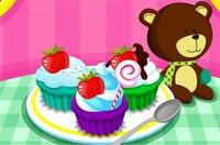 Разноцветные Kексы - Cooking Colorful Cupcakes