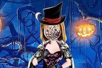 Рисунок на Лице Райли - Riley Halloween Face Art