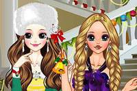 Рождество и Принцессы - Christmas Princesses