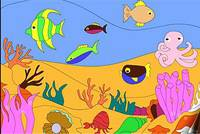 Рыбки в Океане - Undersea Life