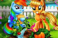 Сад Пони - My Little Pony Veggie Garden