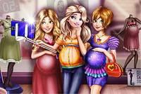 Селфи Мамочек - Disney Pregnant Selfie